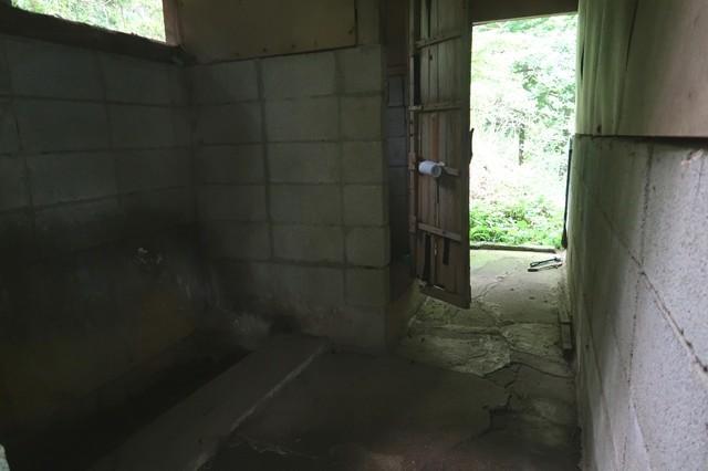 大倉高原山の家のトイレの様子