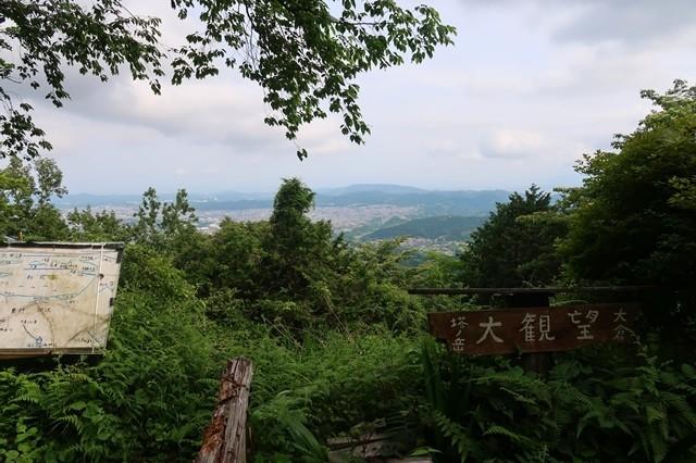 大倉高原山の家大観望周辺