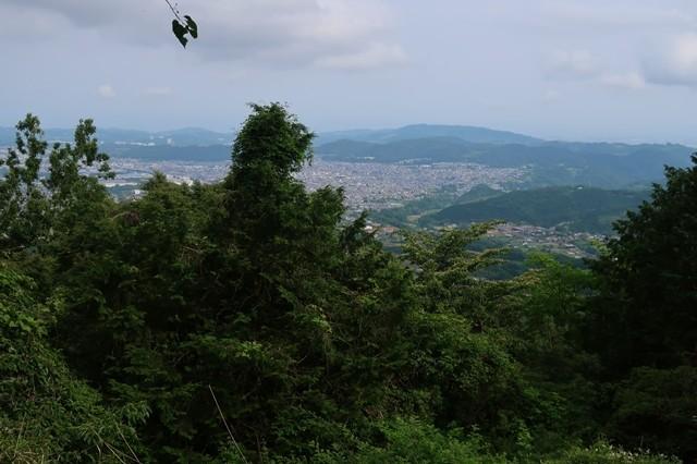 大倉高原山の家大観望からの景色
