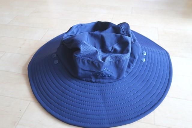 登山夏用メンズ帽子サファリハット