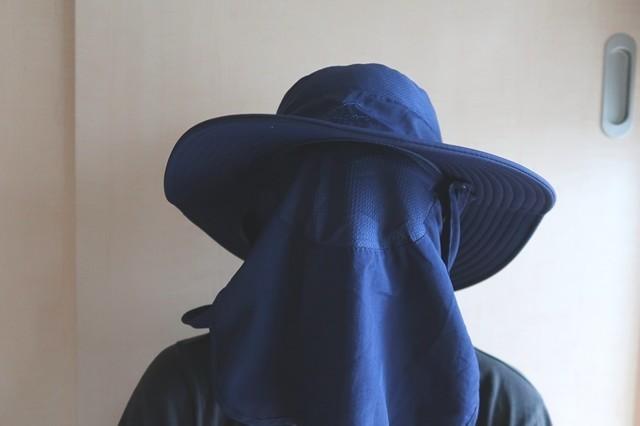サファリハット登山帽子
