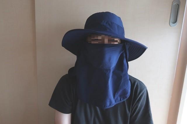 夏用メンズサファリハット登山帽子