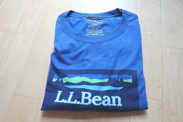 L.LBean登山アウトドア用Tシャツ