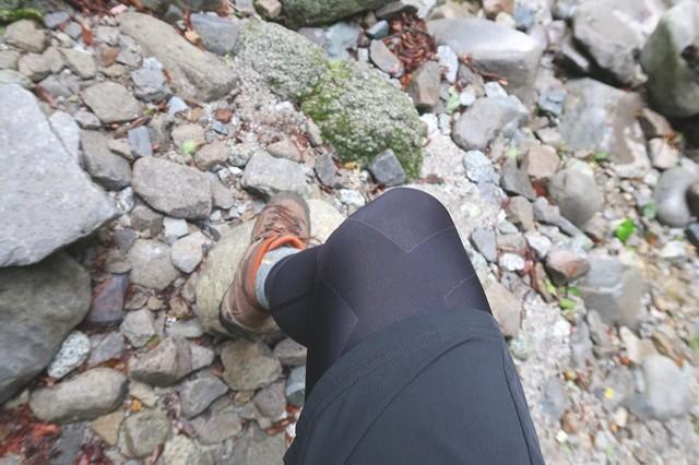スポーツタイツの登山効果