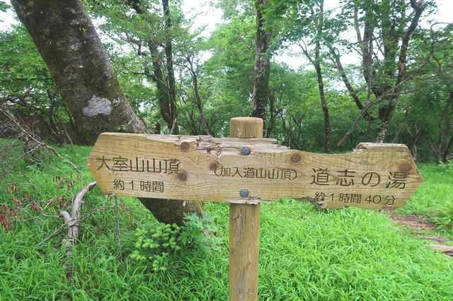 神奈川県と山梨県の国境に加入道山は位置している