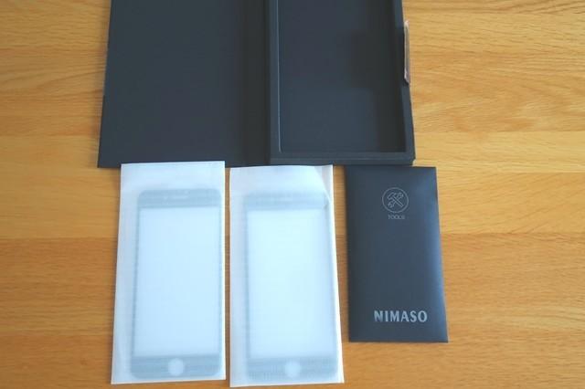 NIMASOスマホガラスフィルムの詳細