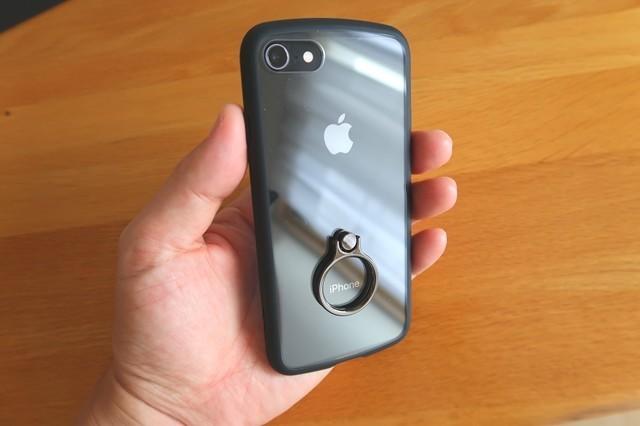 スマホエレコムiPhoneSE 4.7インチTOUGH SLIM LITEケース