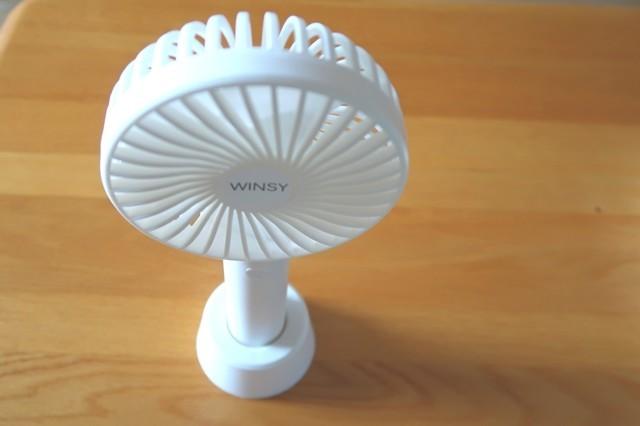 卓上小型扇風機として使用