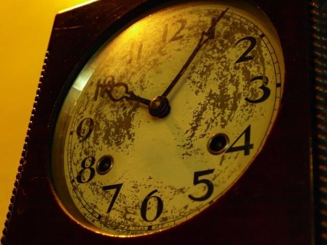 不吉な現象と時計