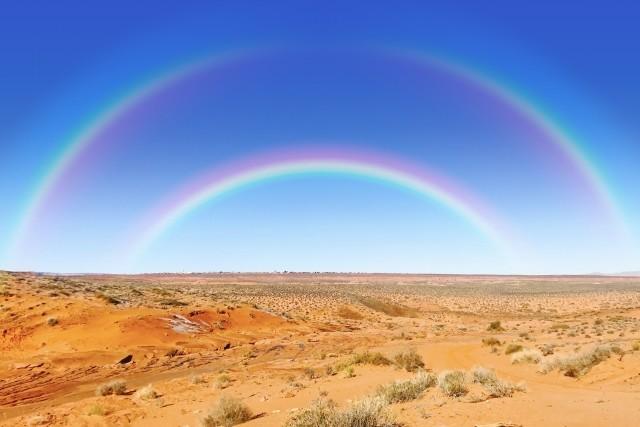 虹は不吉な現象