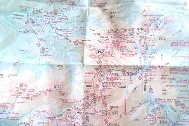 最新の登山地図