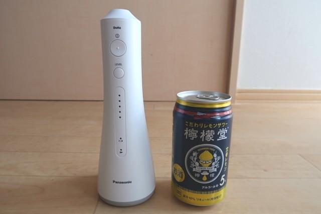 ジェットウォッシャー缶と大きさ比較