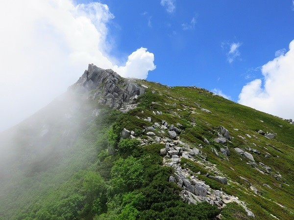 登山ブログ撮った山の写真