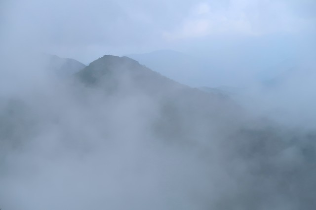 雨山・檜岳ガスの景色