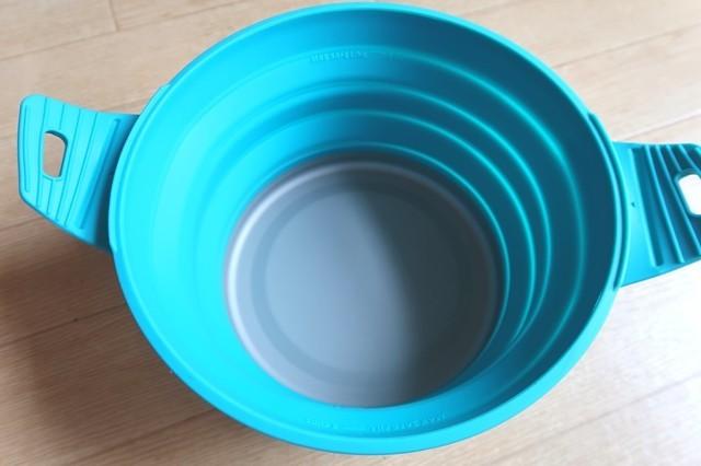 鍋の大きさ、シングルガスバーナーとの比較