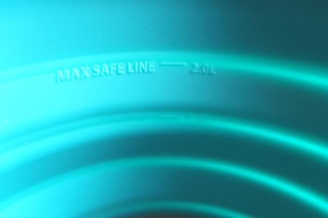 シートゥーサミットクッカーX-ポットの内側にある目盛り