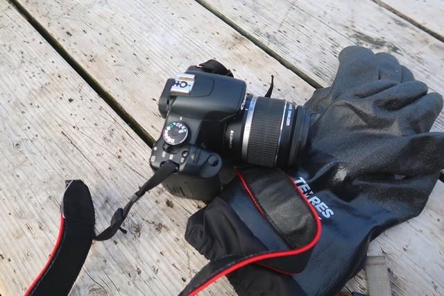 登山に一眼レフカメラ