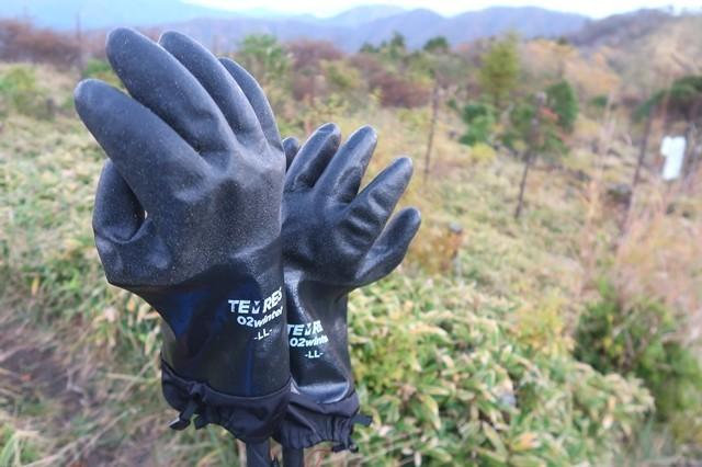 ナイトハイクに必要な持ち物厚手の手袋