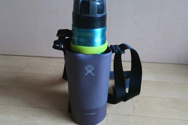 山専用ボトルの大きさ高さ23.5cm水筒入れより大きい