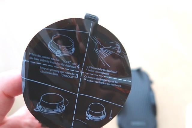 スマホホルダーの安定性真空ゲル吸盤