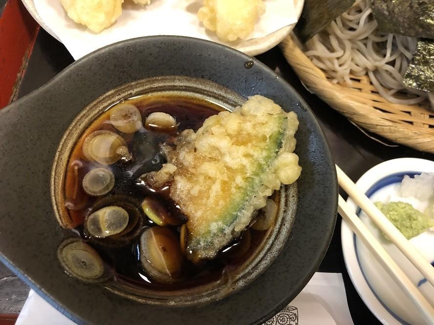 相州平塚蕎麦屋さんの天汁