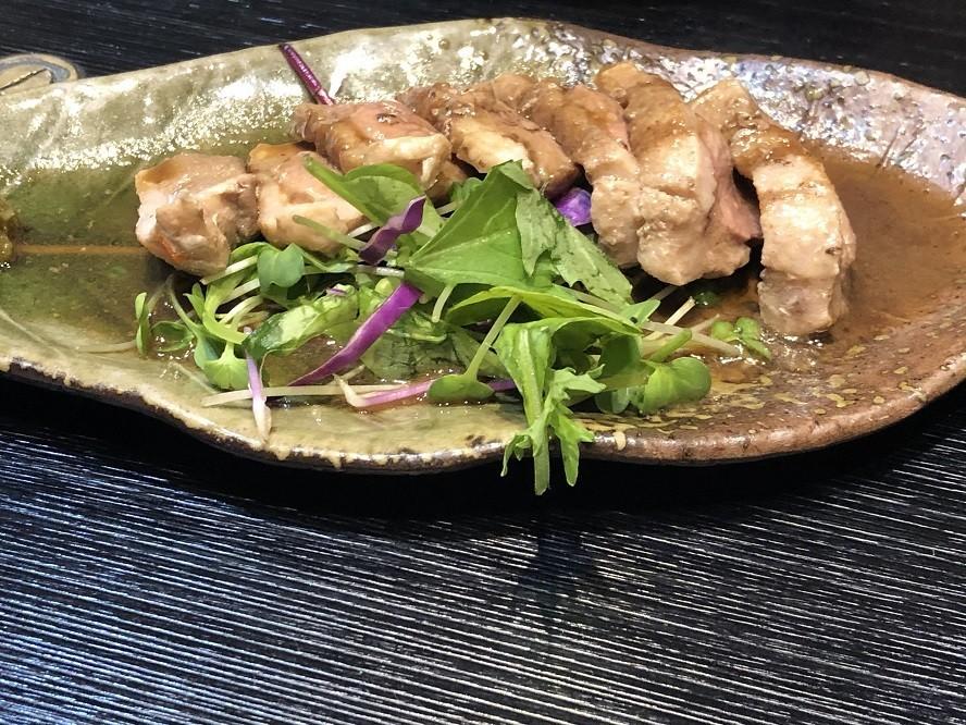 瓢亭のおすすめ料理鴨肉のステーキ