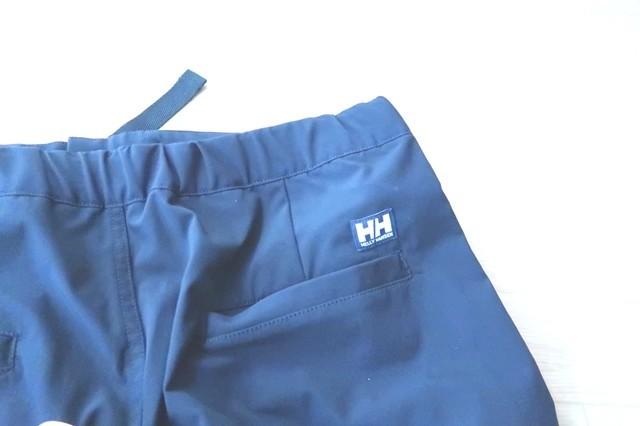 ヘリーハンセン登山・アウトドア用ズボン右側のポケット