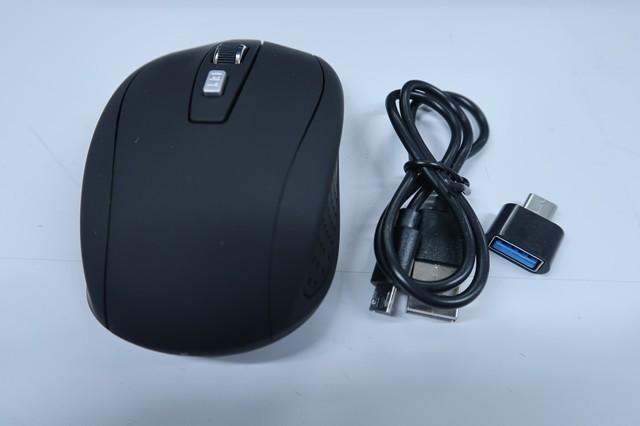充電式ワイヤレスマウスセットの仕方
