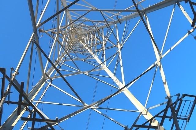 岩戸山の鉄塔
