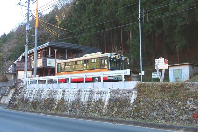 和田バス停
