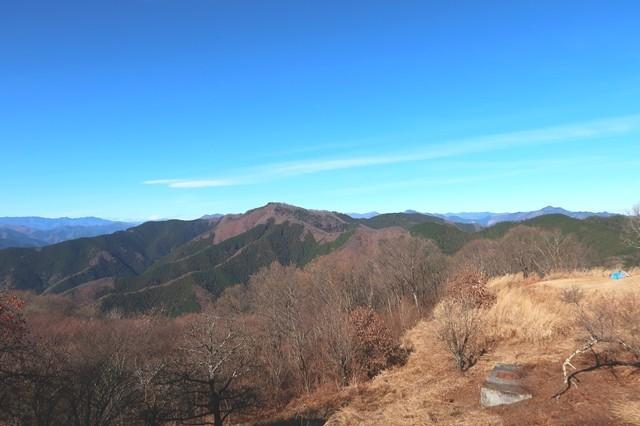 生藤山・奥多摩の名山三頭山・笹尾根歩き登山ルート