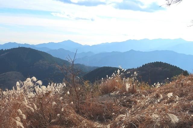 景信山の景色は素晴らしい