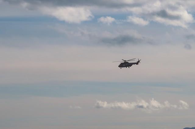 東京消防庁のヘリコプター