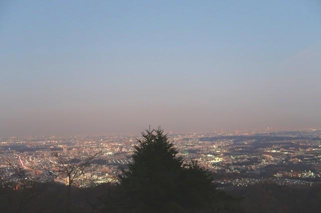 高尾山山頂からの夜景
