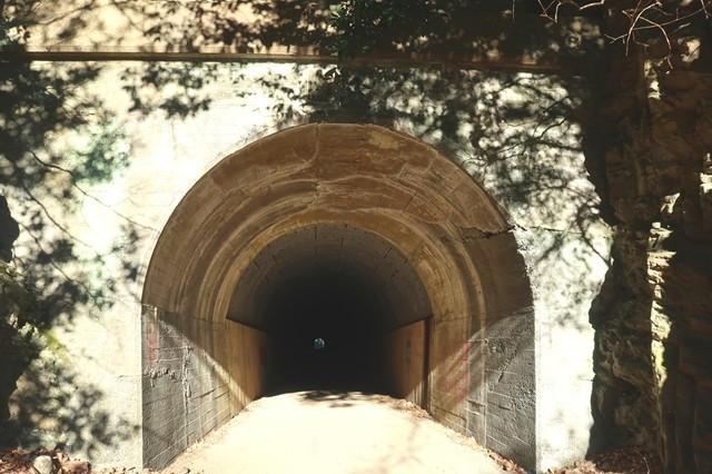 山の神トンネル(山神隧道)は曰くつきトンネル