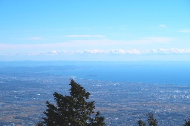 初詣登山のご褒美な景色