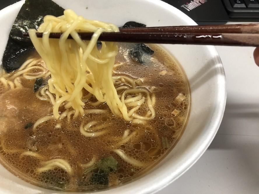 横浜家系とんこつ醤油ラーメンのチャーシュー
