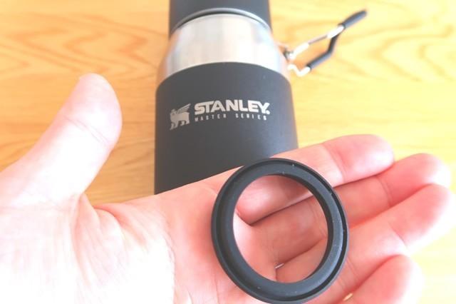 スタンレーの水筒に使われているシリコン製のパッキン