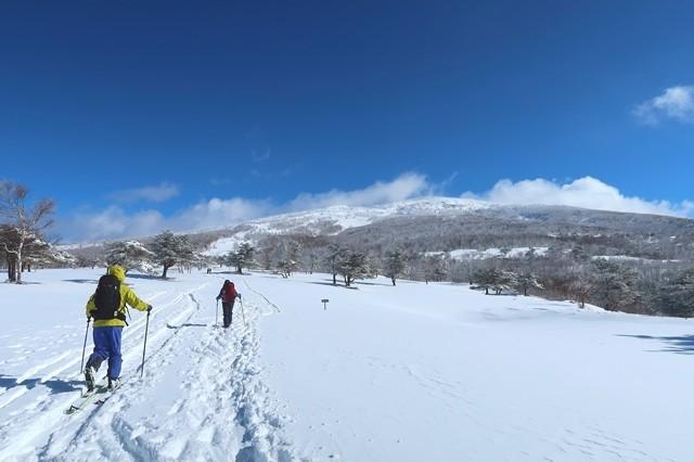 根子岳方面の景色