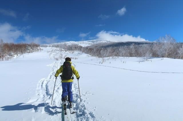リフトから根子岳への距離