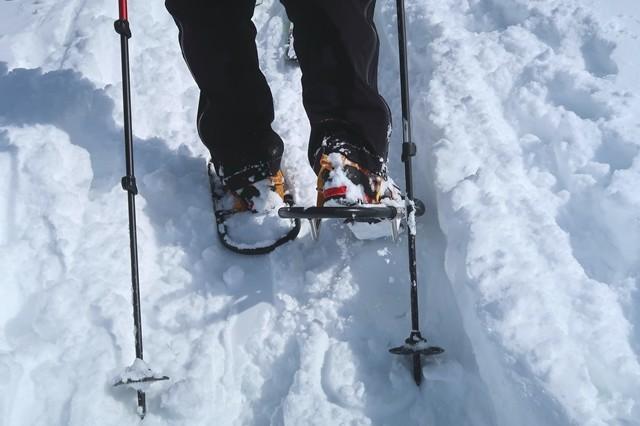 ワカンの方が根子岳登山道は歩き易い