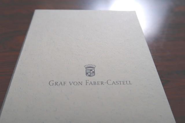 購入したファーバーカステルギロシェのボールペン