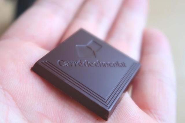 カレ・ド・ショコラカカオ70を食べてみた味について