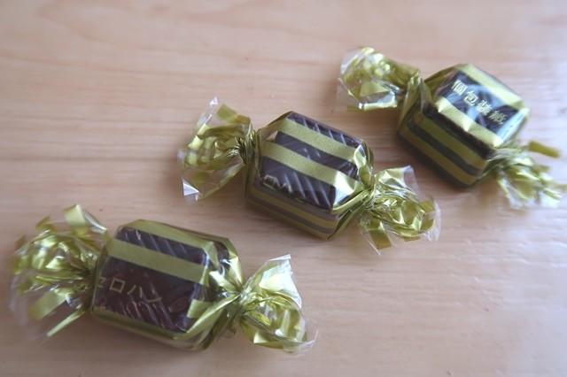 ハイカカオチョコレート70%の包装の様子