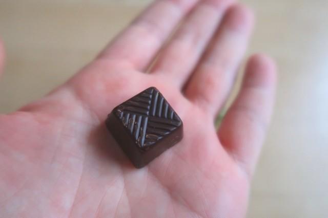 ハイカカオチョコレート70%の本体