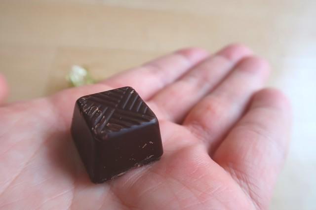 ハイカカオチョコレート70%の味と苦さ
