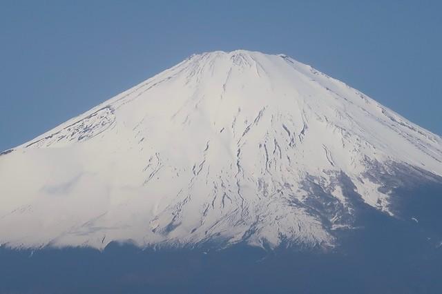 富士山積雪の状況