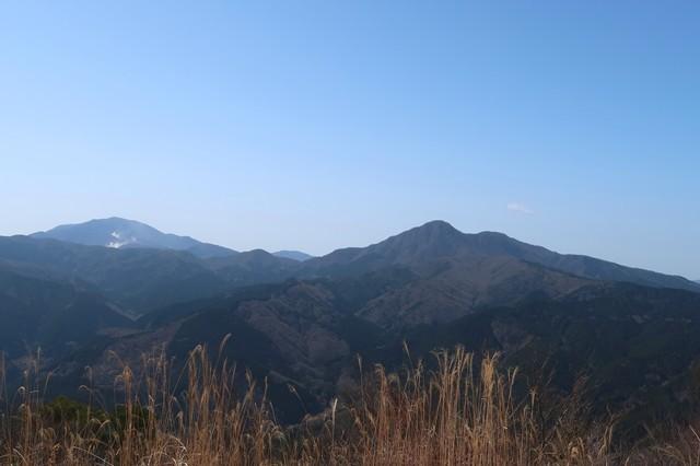 矢倉岳から金時山周辺景色