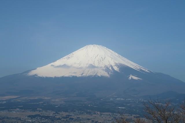 矢倉岳から富士山景色