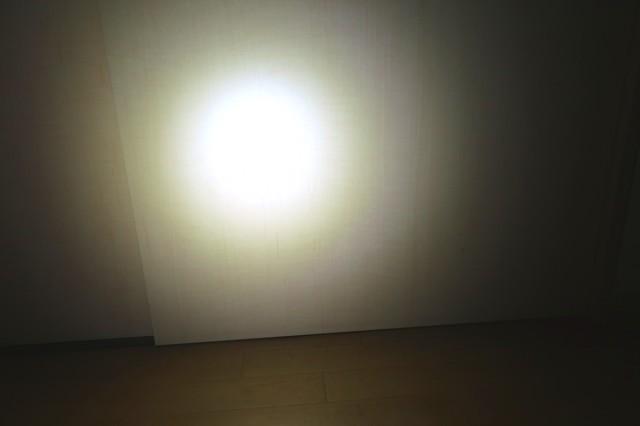 ライトを点灯させた状態